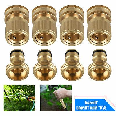 garden hose quick connect solid brass quick