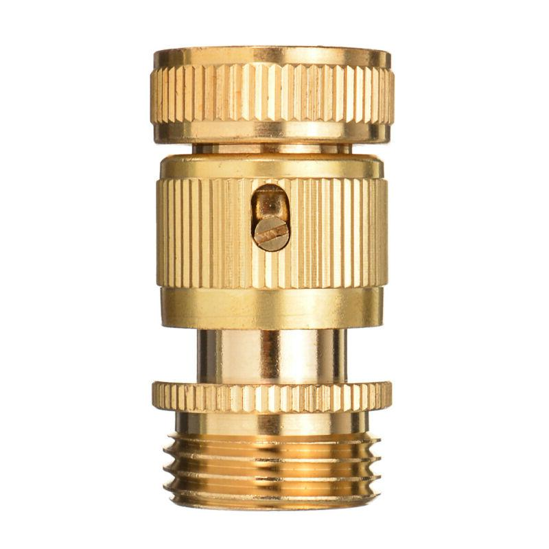 Garden Hose Quick Connector for Easy Connect Yard US