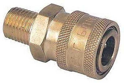 high pressure washer brass hose quick connect