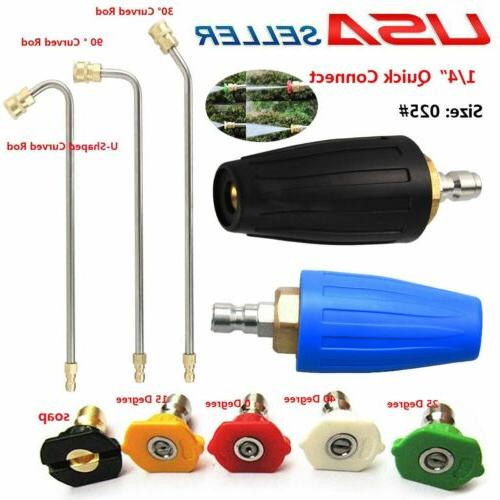 high pressure washer extension wand turbo nozzle