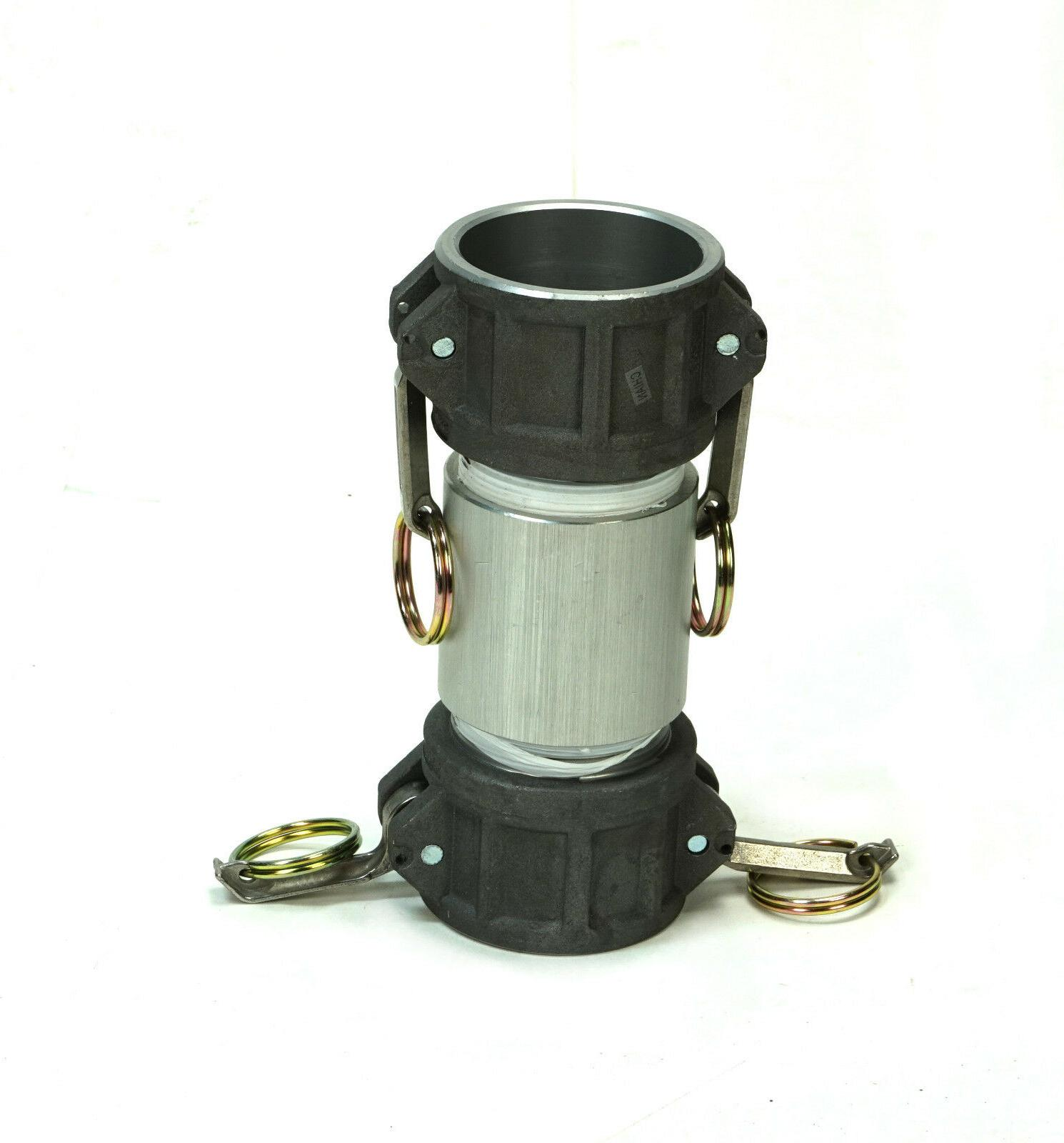 hydraulic coupling assembly quick connect 2 f