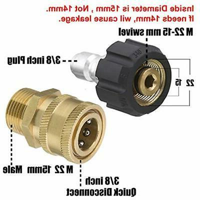 M22-15mm Set Connect Kit PSI Max Washer