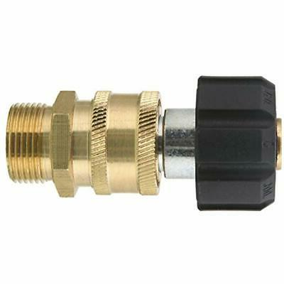 M22-15mm Adapter Quick Connect 5000 PSI Max Washer