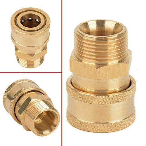 Washer Quick Release Adapter Connector M22 Metric for Washer