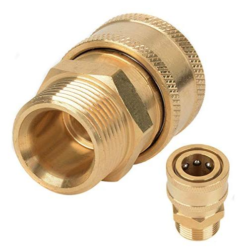 1pc Mayitr Washer Quick Release Connector Metric Male Fitting
