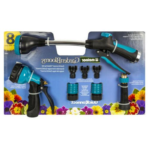 metal nozzle and quick connect 8pc value
