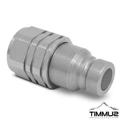 "3/4"" NPT Flat Face Hydraulic Couplings"
