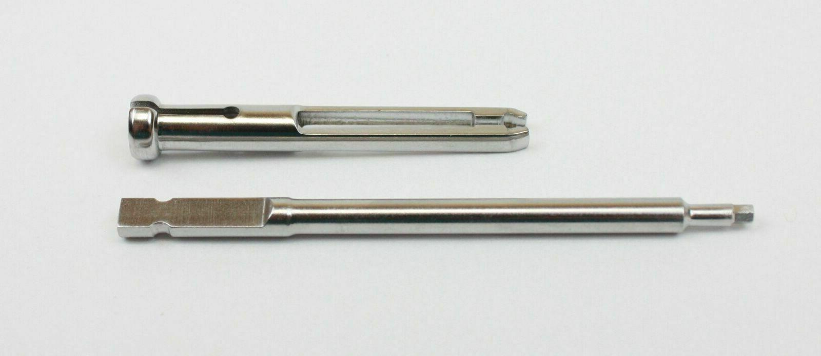 orthopedic instrument quick connect screwdriver shaft 2