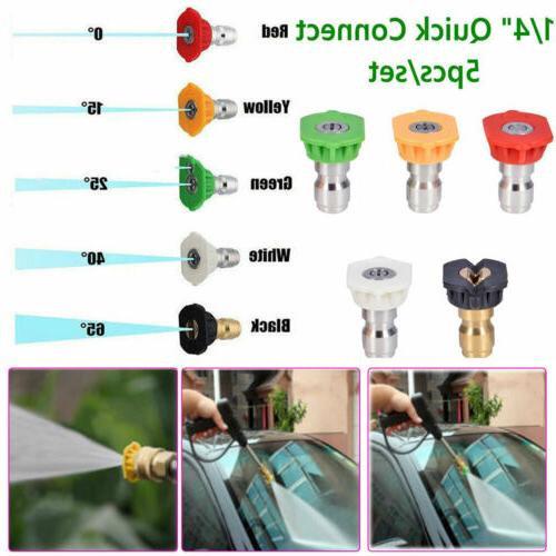 power pressure washer spray nozzle 5 pcs