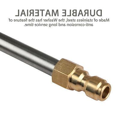 """Pressure Washer Lance/Wand Extension 1/4"""" Quick Connect 4000"""
