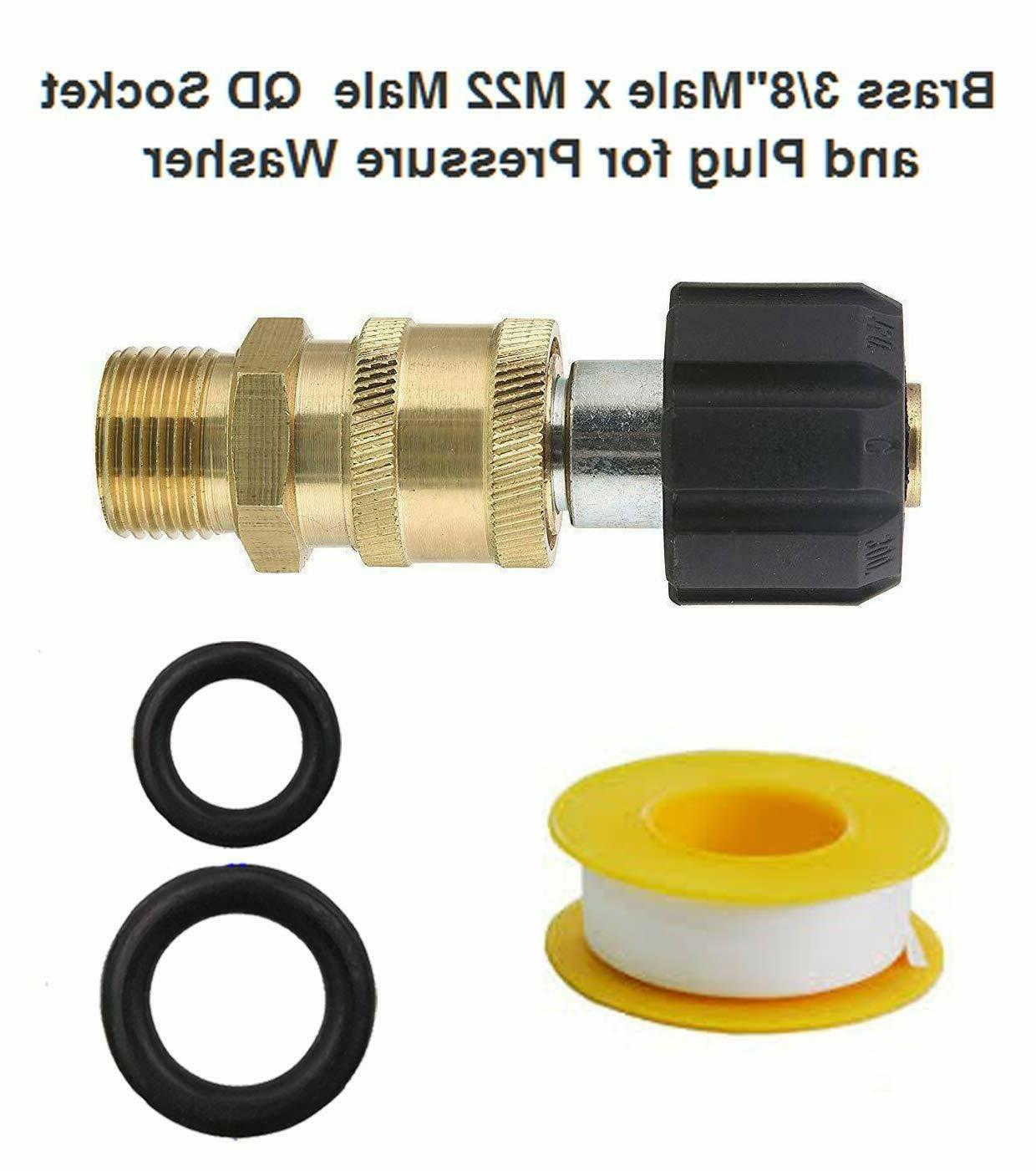 Pressure Quick Connect Adapter PSI 14 mm 3/8