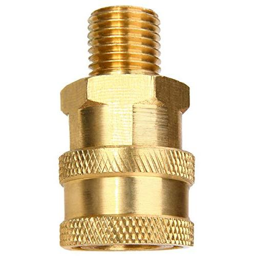 """1pc Quick Connect Coupler Converter 1/4"""" Male Thread Mayitr Duty Quick"""