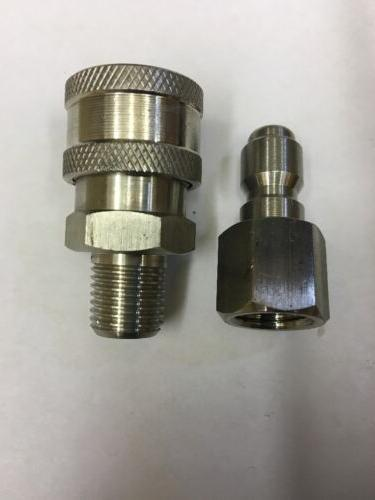 Legacy Pressure Washer Quick Connect Coupler 1/4""