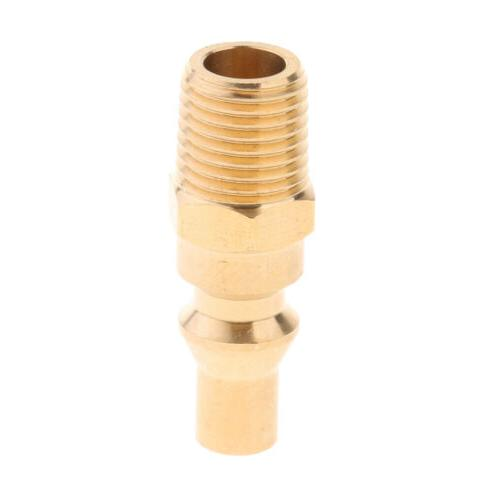 Propane Gas Quick Connect Adapter Connector Pipe Fitting 1/4