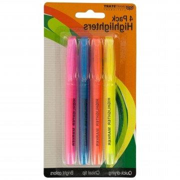 Quick-Drying Tip Highlighters Set A&D Aids | Non Highlighters Narrow For Journaling, Studying, Note Variant | Mark Your
