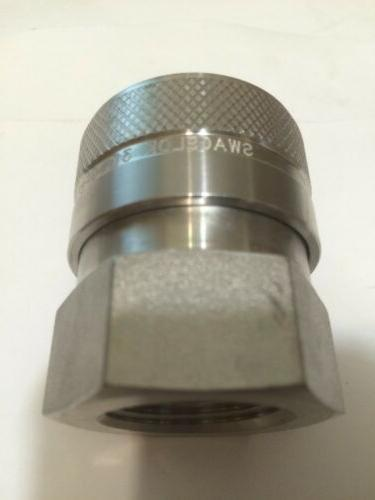 """Connect Body 3/4"""", SS-QF12-B-12PF 316 Stainless steel"""