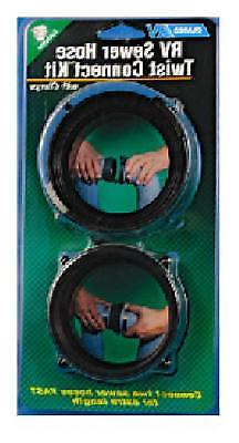 """Camco Rv Sewer Hose Twist Connect Kit Hoses 3"""""""