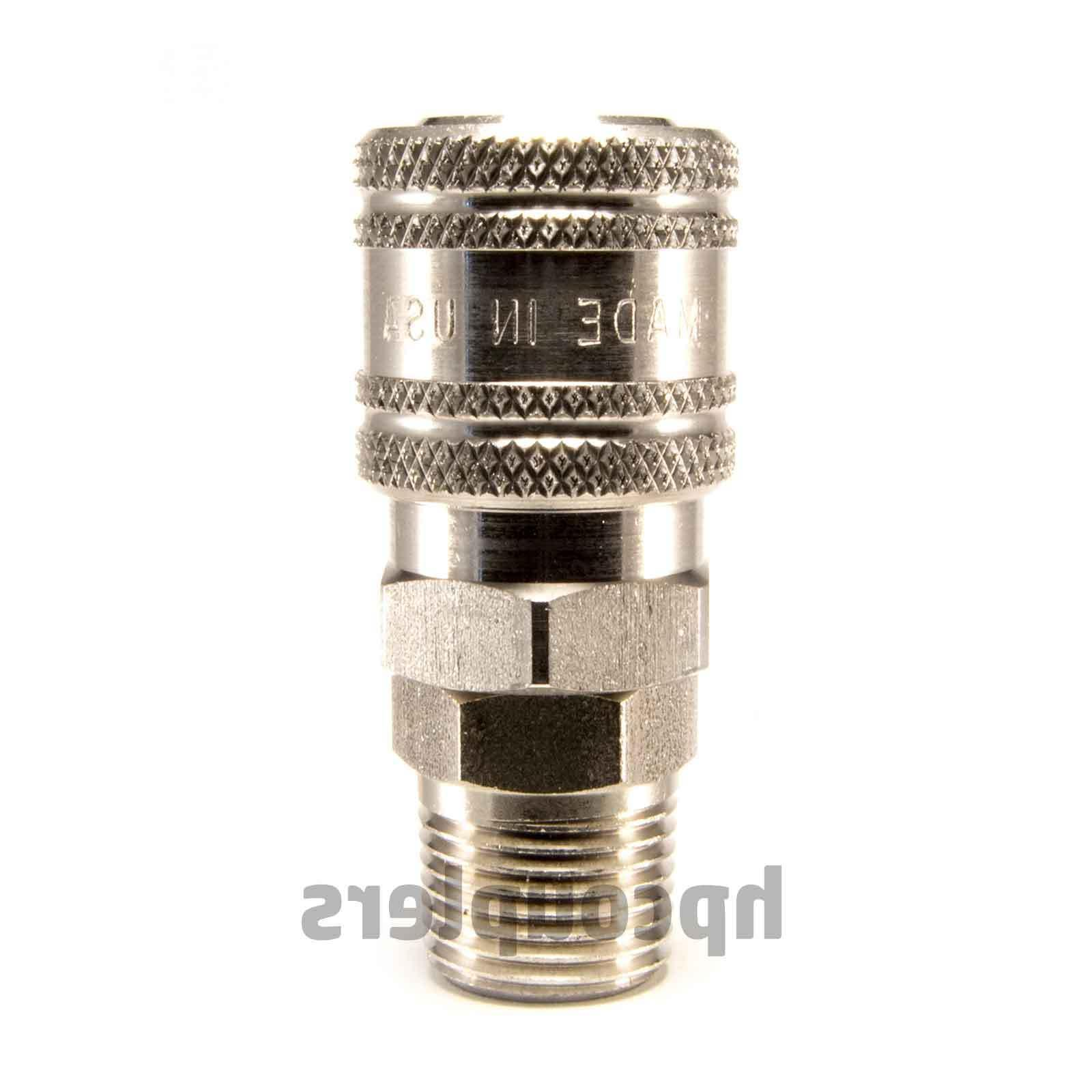 stainless steel 1 4 quick connect coupler