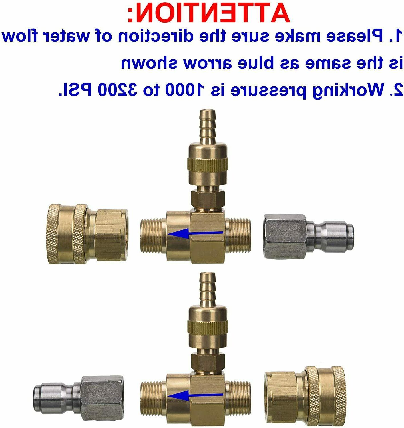 Tool Adjustable Injector for Pressure 3/8inch