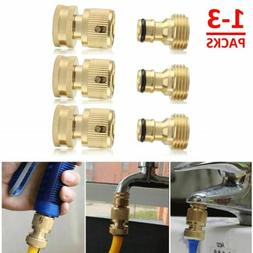 3/4' Garden Hose Quick Connect Solid Brass Quick Connector G