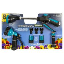 Melnor Metal Nozzle and Quick Connect 8pc Value Kit