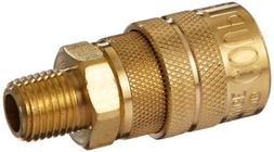 "Milton  1/4"" Male NPT M Style  Air fitting Quick Connect Cou"