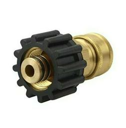 New! Pressure Washer Brass 3/8 inch Quick Connect to M22 Fem