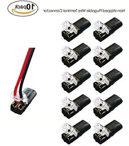 Non-stripped Wire Applicable Wire Terminal Block Connector f