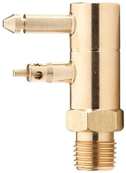 attwood 8883-6 Brass Quick-Connect Tank Fitting 1/4-Inch NPT