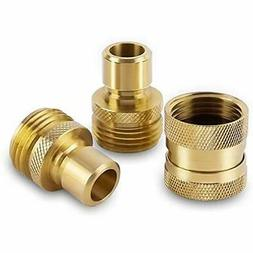 Parts & Connectors Garden Hose Quick Solid Brass Connects Wa