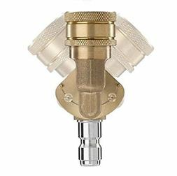 Power Care Quick-Connect Pivoting Coupler High-Pressure Nozz