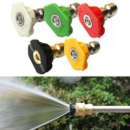 Power Washer Spray Nozzle Replacement Pressure Washing Tips