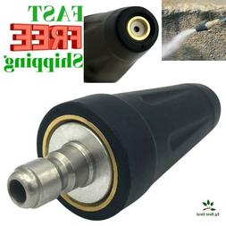 Power Washer Turbo Nozzle Pressure Rotating Quick Connect He