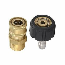 Mingle Pressure Washer Adapter Set, Quick Connect Gun to Wan
