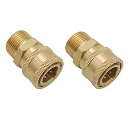 Twinkle Star Pressure Washer Brass Quick Coupler Fittings,3/