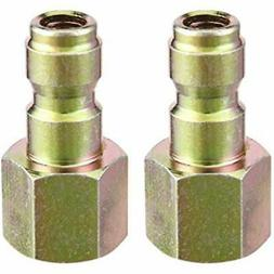 Pressure Washer Coupler, Quick Connect Plug, 1/4 Inch Female