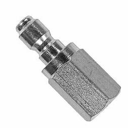 "Pressure Washer Hose Quick Coupler Plug 1/4"" FPT Stainless S"