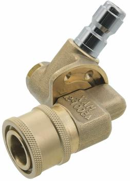 "Pressure Washer Pivoting 1/4"" Quick Connect Coupler 4500 PSI"