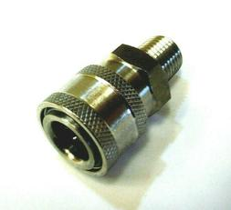 """Pressure Washer  Quick Connect Coupler 1/4"""" male  6000 psi 3"""