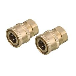 Tool Daily Pressure Washer Accessories, Brass Quick Coupler