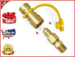 GASPRO 3/8 Inch Natural Gas Quick Connect Fittings,LP Gas