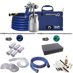 Fuji Q4 Platinum Quiet HVLP Spray System w/ Bottom Feed Cup