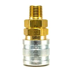 """Foster Quick Connect 1/4"""" Male NPT Air Hose Coupler M Style"""