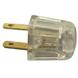 QUICK CONNECT { CLEAR } ~ Lamp Cord Polarized Plug ~ for SPT