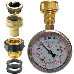 PLG Quick Connect/Disconnect Water Pressure Gauge Kit,2 in.G