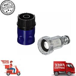quick connect garden hose adapter kit blue