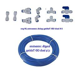 """YZM 10 pcs 1/4"""" Quick Connect Push In to Connect Water Purif"""