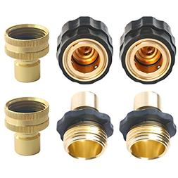 Quick Release Garden Hose connectors Set