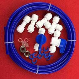 "Malida RO Water Systems Ice Maker Kit 1/4"" for Reverse Osmos"