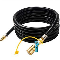 X Home RV Propane Quick Connect 12 feet Low Pressure Hose -